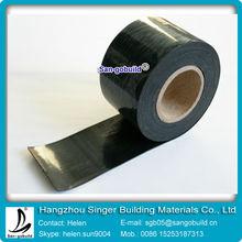 1.2mm/1.5mm/2mm self-adhesive bitumen waterproofing membrane /tape