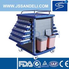 FDA!!!hospital medical utility nursing trolley