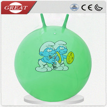 18 inch Sheep handle hopper ball Inflatable jumping ball toys hard massage balls