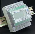 display lcd medidores de eletricidade para trilho din usado para energia elétrica de gestão