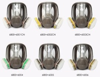 3M canister respirator 6800 , full face gas mask