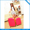 Stock lightweight abs/pc luggage