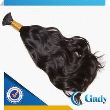 buy free shedding no tangles 100% indian wet and wavy bulk hair