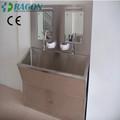 Dw-he001 due- stazione in acciaio inox scrub lavello in jiangsu