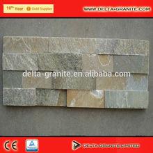 Natural pedra ardósia externa revestimentos de parede, Enferrujado Natural Natural revestimento de parede, Natural revestimento de parede com própria fábrica