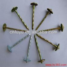 metal cap galvanized roofing nail manufacturer china