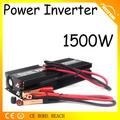 Alta- power 1500w carro transformador 12v dc para 220v ac