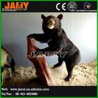 Artificial Scale Model Animal Rubber Black Bear