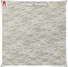 kaiheng china Long sleeve women blouse flower 90 nylon 10 spandex fabric nylon spandex lace fabric