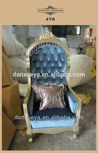 Antique chair queen throne P01#