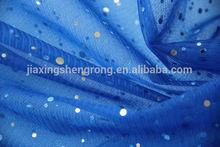 sequin glass organza/mesh fabric/snow organza