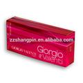 più nuovo disegno rettangolare rossi bellezza colore lucido scatole regalo profumi