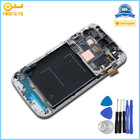 100% original for Samsung i9500 Galaxy S4 LCD Assembly with Touch Screen Digitizer + Frame
