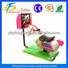 best selling coin operated kiddy ride Golden horse games for kids