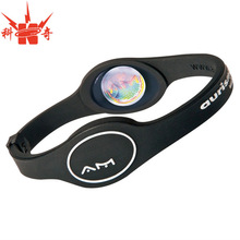 Promotion custom silicone magnetic bracelets for gifts
