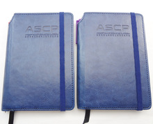 2014 high quality office note book with elastic bind