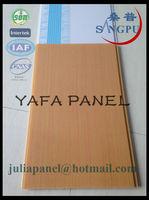 Haining Yafa 250mm*7mm Flat Pvc Ceiling Board Price