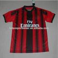 Acepta paypal la calidad de tailandia de fútbol jersey AC Milan uniforme de fútbol 14/15 temporada