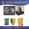 2014 factory direct hot sales plastic dustbins waste bin moulding,garbage trash bin mold manufacturer in taizhou china