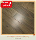 Popular American black walnut smooth wood flooring