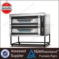 Restaurante fornos 2-Layer 8-Tray equipamento completo para padaria usada