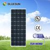 Bluesun 2014 year hot sale most popular cheap high efficiency 75w solar panel price