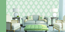 2014 hot selling non woven wallpaper wholesale fashion wallpaper decoration