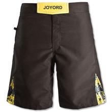Custom mens black crossifit shorts mma gear