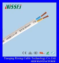 PVC Insulated & Sheathed Construction Building PVC Power Cable & Wire Industrial Power Cable white jacket