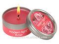 mini home duft parfümiert blechdose kerze mit verschiedenen düfte