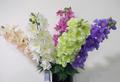 baratos artificial hortênsia flor para o funeral de grinaldas e grave arranjo