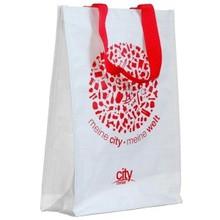 Non-woven,non woven/polyester/pp non woven Material and Handled,tote bag Style non woven shoe bag