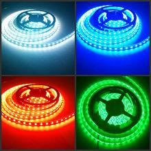 LED strips Shenzhen LED DC12V 5m LED ribbon 5050 high brightness 3v led strip light