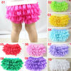 Wholesale Multi color Ruffled Lace baby Girl Bloomers,Diaper Cover