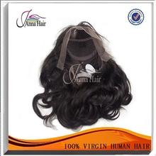 Modern Design virgin indian hair full lace wig