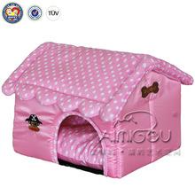 BSCI QQFactory Wholesale Garden Pet Cat House Cage