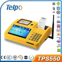 China all in one terminal fingerprint Money Transfer pos bezel