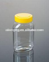 Custom New 100% Food Grade Clear Small Plastic Candy Jar Similar Glass Jar, Food Jar