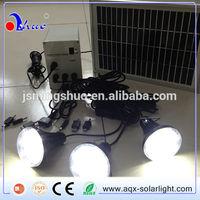 Home use solar lighting system/Solar lighting kits