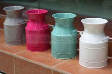 Zinc galvanized Metal Water Kettle, milk pot, milk can, pitch
