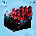 Развлечений оборудование гидравлический / электрический мини фильм малайзия 6d кино