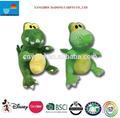 Dinosauro giocattolo della peluche/dinosauro peluche giocattoli/verde dinosauro giocattolo della peluche