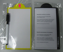 Mini magnetic dry whiteboard with pen for children's study tools