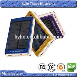 30000mah solar computer charger Dual USB LED light solar digital charger for iPhone 5 5c 5s iPad air mini