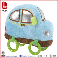 Plush baby toy wholesale soft toy for kid/baby ultra soft plush toy car