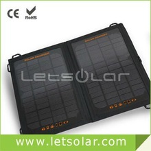 2014 new solar panels 400 watt for iPhone and iPad directly under the sunshine