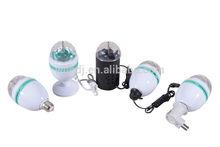 Wholesale - Retail-3W RGB led rotating party light/mini led light
