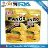 Food grade resealable ziplock plastic food bag