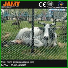 Playground Animal Statue Life Size Cow Model