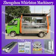 hot selling food truck/fast food car for sale/electric cars to sell food 2014